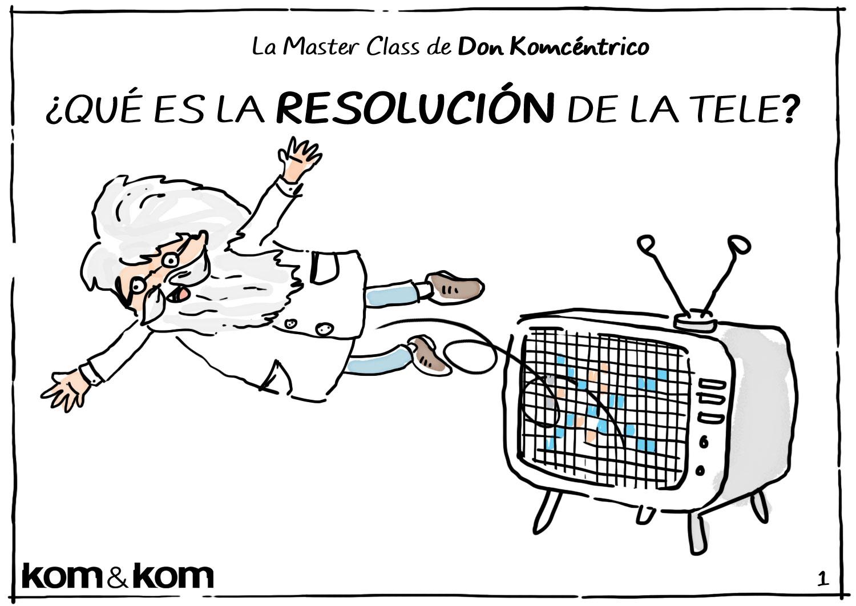 Resolución de La Televisión - Don Komcéntrico